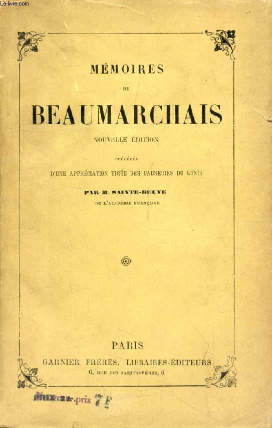 MEMOIRES DE BEAUMARCHAIS DANS L'AFFAIRE GOEZMAN