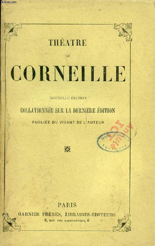 THEATRE DE CORNEILLE