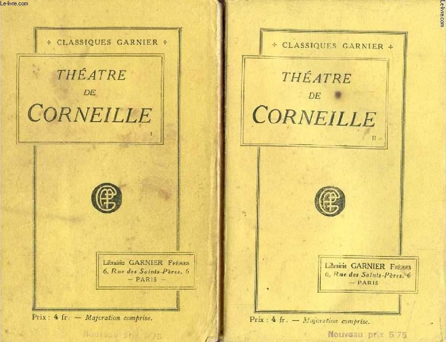 THEATRE DE CORNEILLE, 2 TOMES