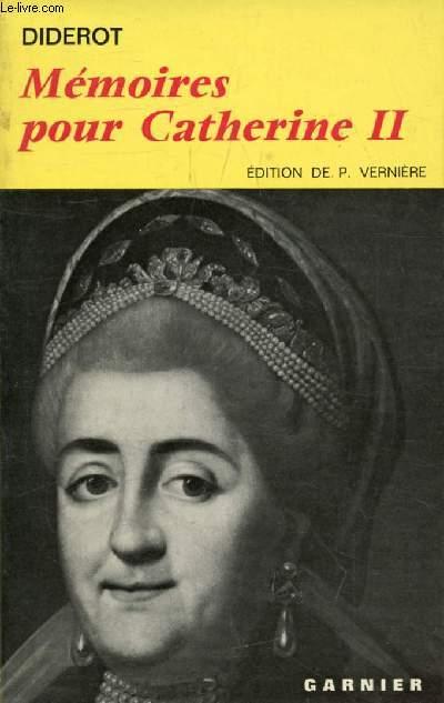 MEMOIRES POUR CATHERINE II