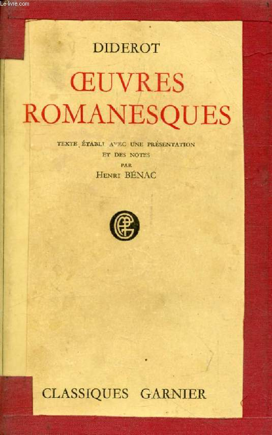 OEUVRES ROMANESQUES