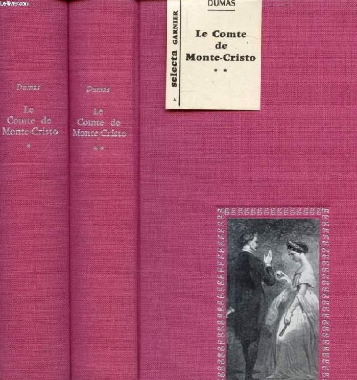 LE COMTE DE MONTE-CRISTO, 2 TOMES