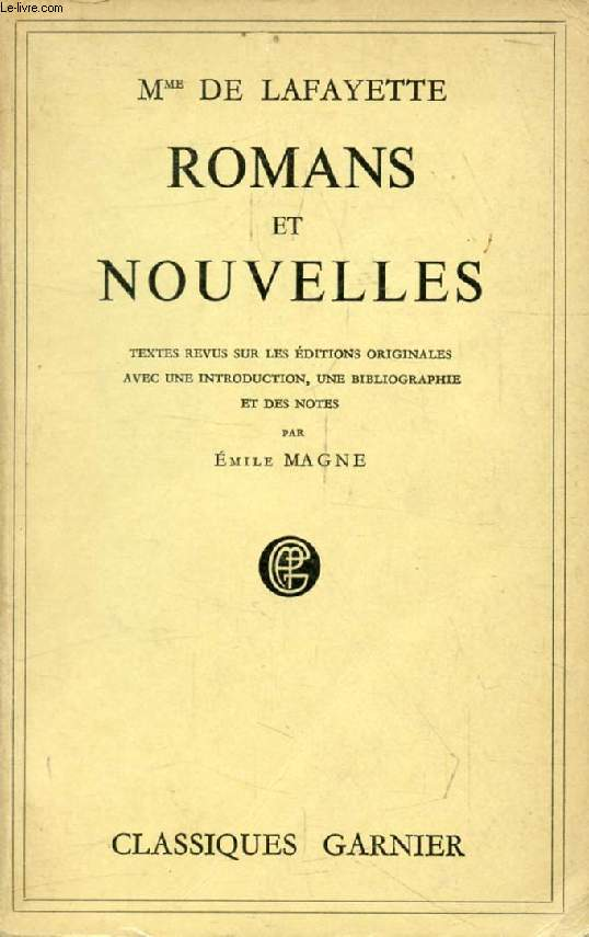 ROMANS ET NOUVELLES