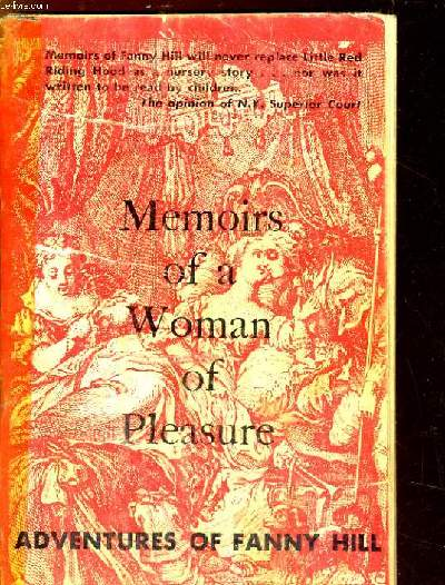MEMOIRES OF A WOMAN OF PLEASURE