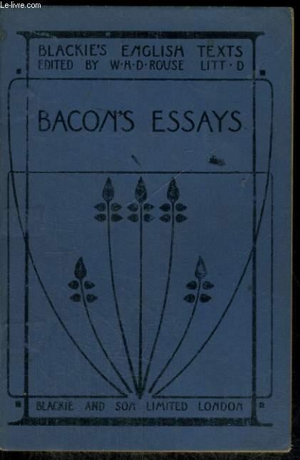 BACON'S ESSAY