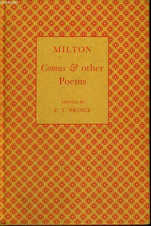 COMUS AND OTHER POEMS