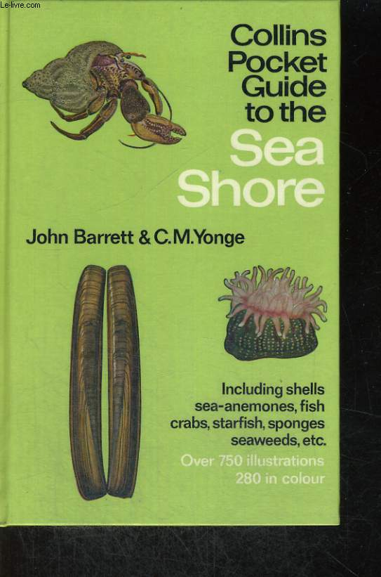 COLLINS POCKET GUIDE TO THE SEA SHORE