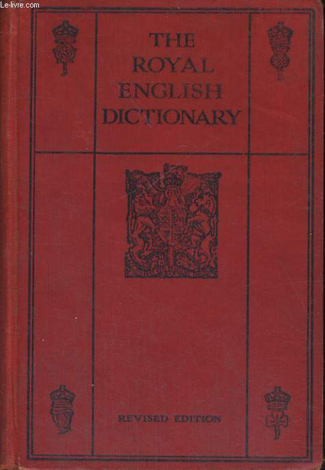 THE ROYAL ENGLISH DICTINARY
