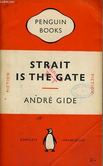 STRAIT IN THE GATE