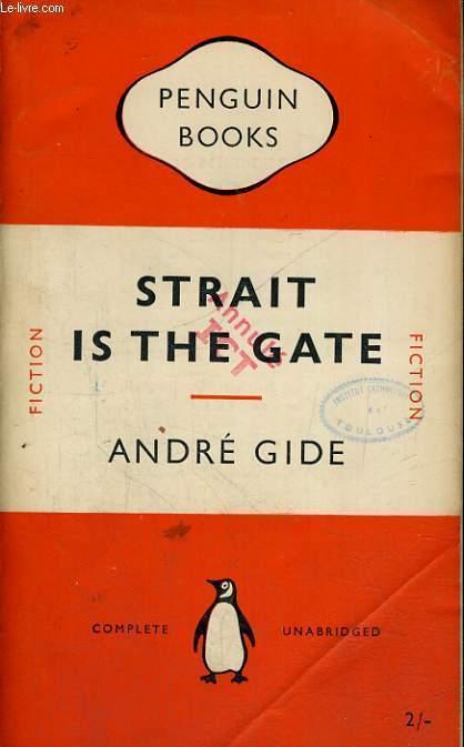 STRAIT IN THE GATE