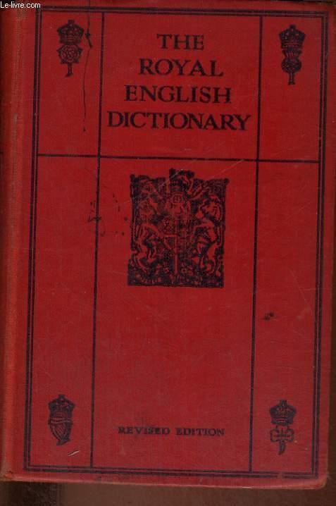 THE ROYAL ENGLISH DICTIONARY AND WORD TREASURY.