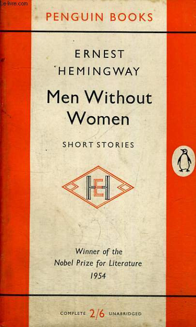 MEN WITHOUT WOMEN. SHORT STORIES.