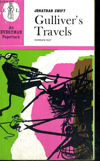GULLIVER'S TRAVELS. FOREWORDby HAROLD WILLIAMS.
