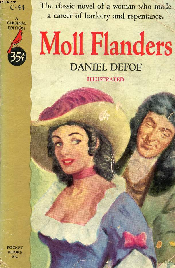 an analysis of daniel defoes novel moll flanders