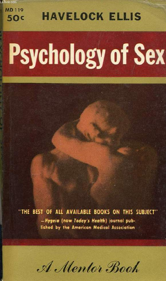 PSYCHOLOGY OF SEX, A MANUAL FOR STUDENTS