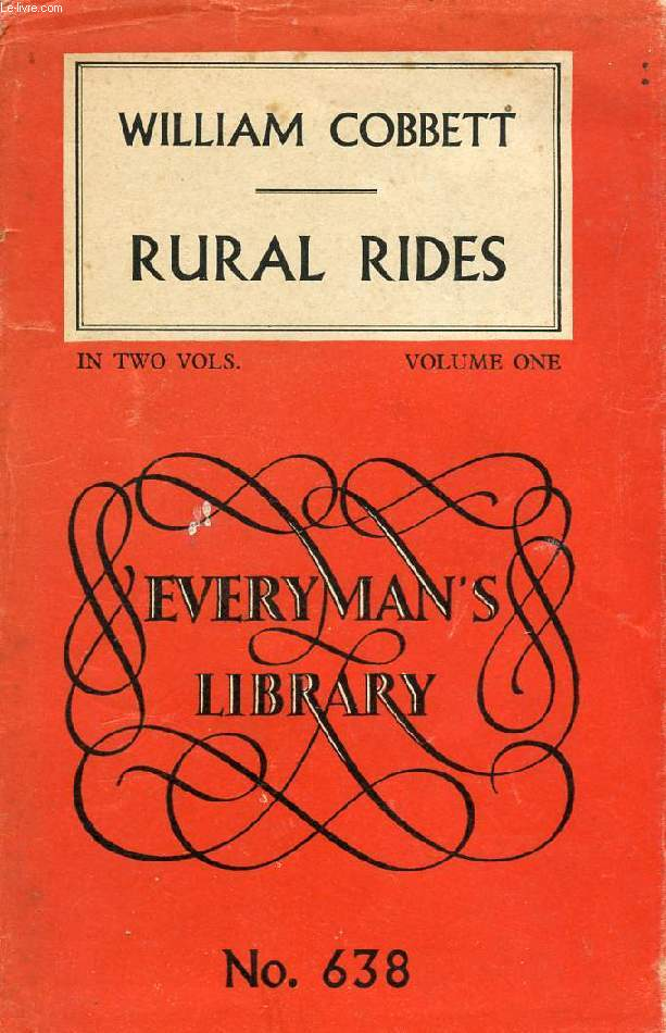 RURAL RIDES, VOLUME I