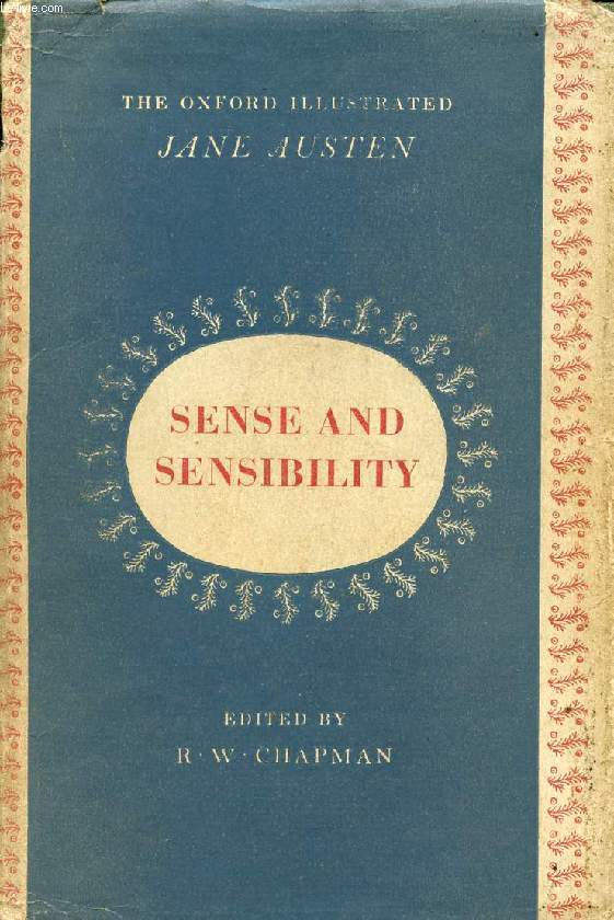 SENSE AND SENSIBILITY, THE NOVELS OF JANE AUSTEN, VOLUME I