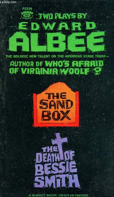 a review of the book the sandbox by edward albee