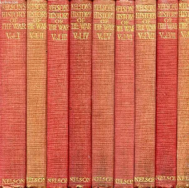 NELSON'S HISTORY OF THE WAR, XXIII VOLUMES