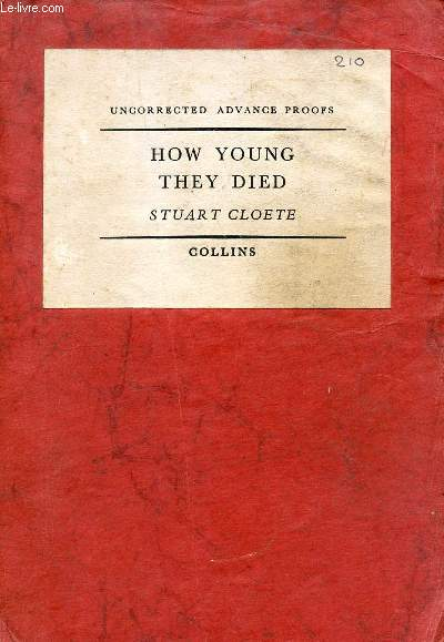 HOW YOUNG THEY DIED
