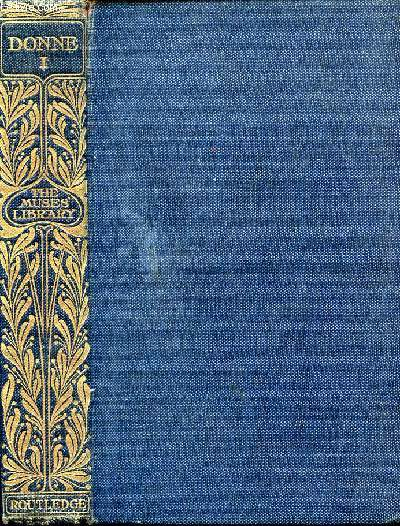 POEMS OF JOHN DONNE, VOL. I