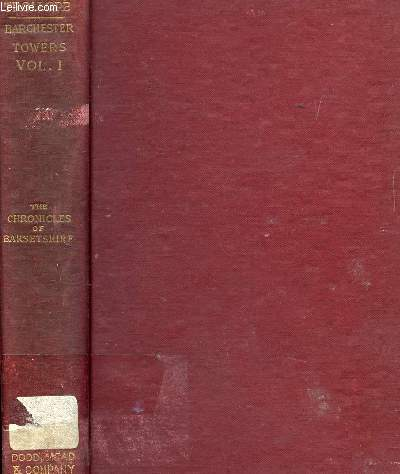 BARCHESTER TOWERS, VOL. I