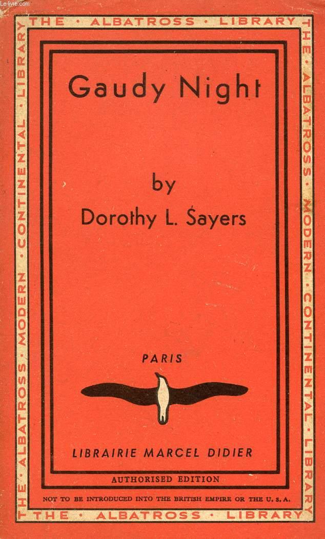 dorothy l sayers gaudy night essay