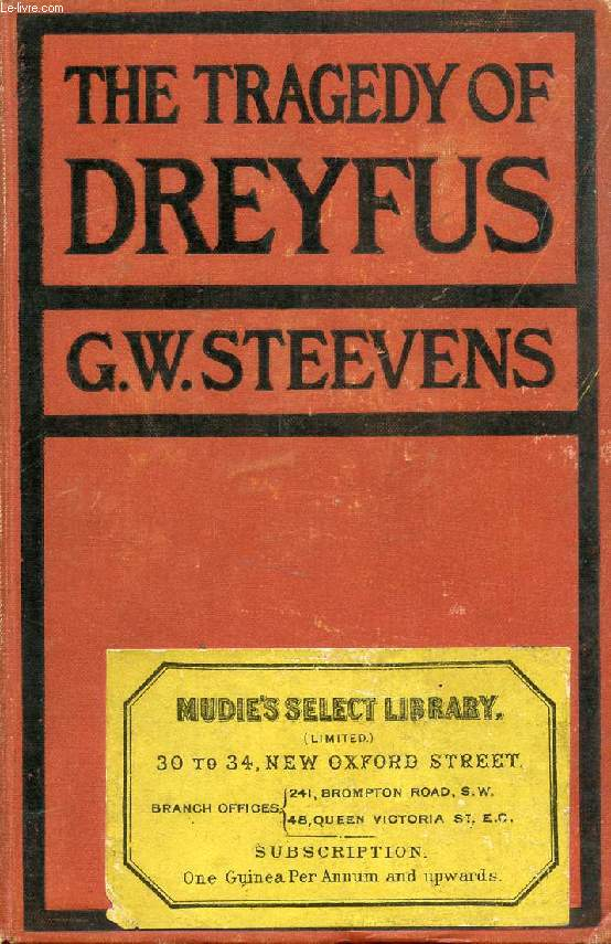 THE TRAGEDY OF DREYFUS