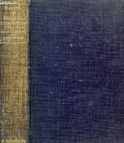 ESSAYS IN ENGLISH LITERATURE, 1780-1860 (Second Series)