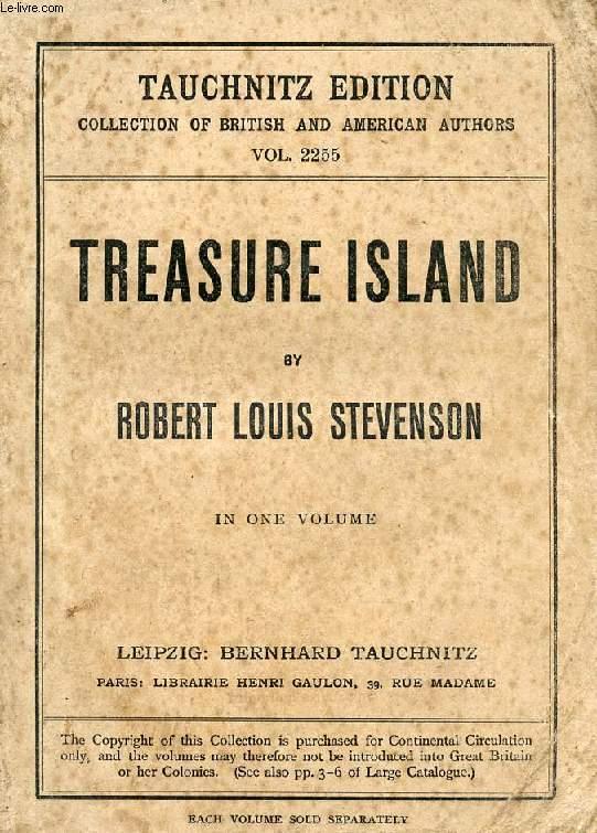 TREASURE ISLAND (COLLECTION OF BRITISH AUTHORS, VOL. 2255)