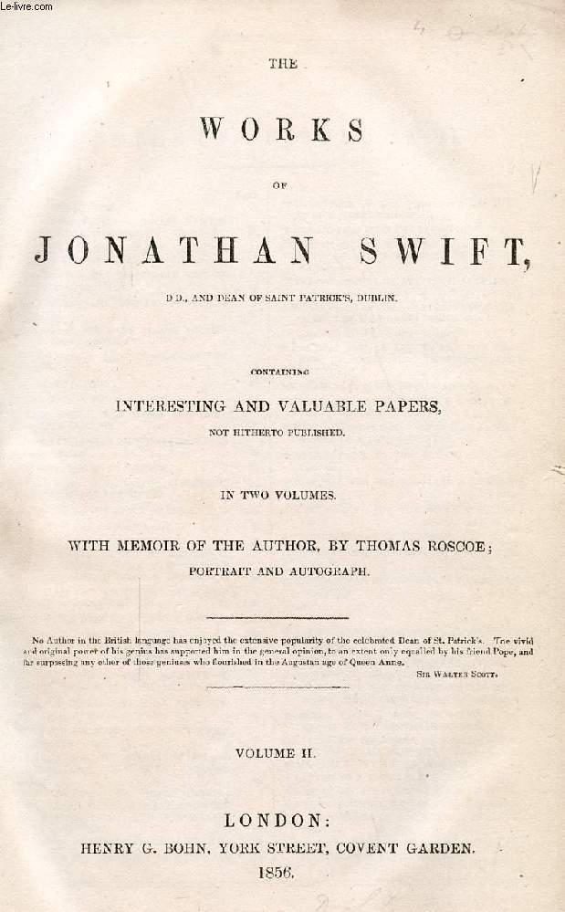 THE WORKS OF JONATHAN SWIFT, VOLUME II