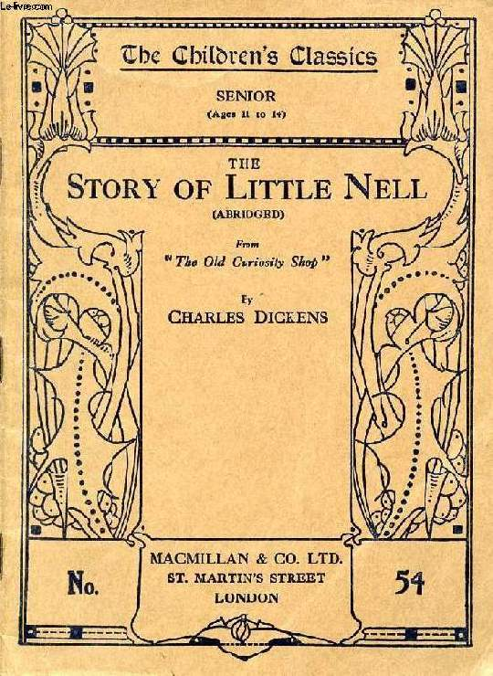 THE STORY OF LITTLE NELL (ABRIDGED)