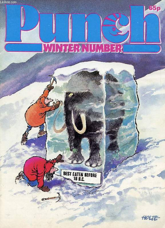 PUNCH, VOL. 287, N° 7508, OCT. 24, 1984 (Contents: Winter Number. Handelsman, Winter Fables. Alan Coren, If Wernit Comes. E. S. Turner, Winter's Tales. Russell Davies, A Sheriff Calls. Roy Hattersley, Press Gang: Oh, Mr Porter! Robert Buckman...)