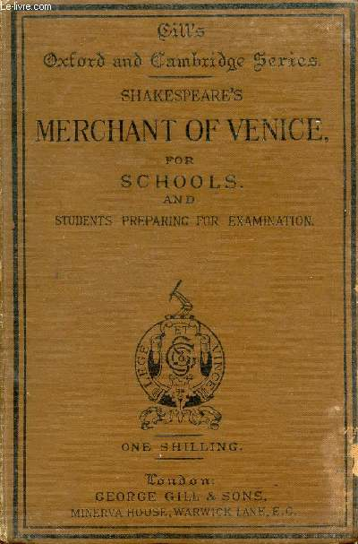 MERCHANT OF VENICE (ABBREVIATED)