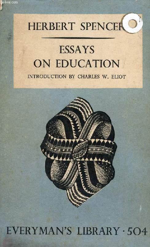 ESSAYS ON EDUCATION, ETC.