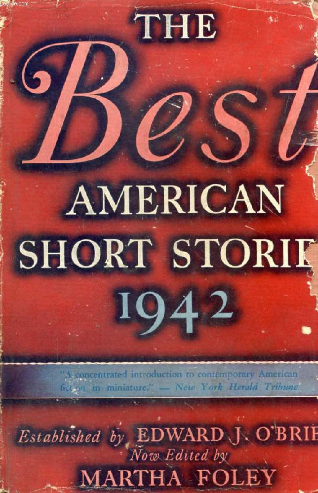 THE BEST AMERICAN SHORT STORIES, 1942