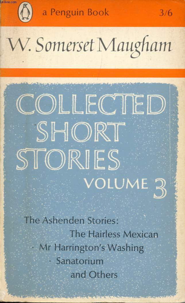 COLLECTED SHORT STORIES, VOL. 3
