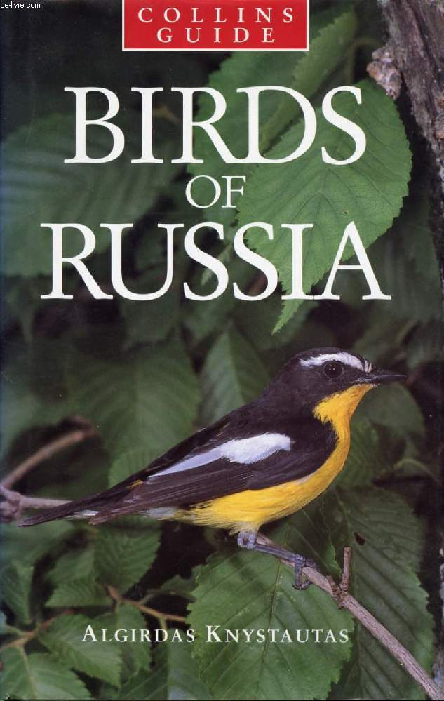 BIRDS OF RUSSIA, COLLINS GUIDE