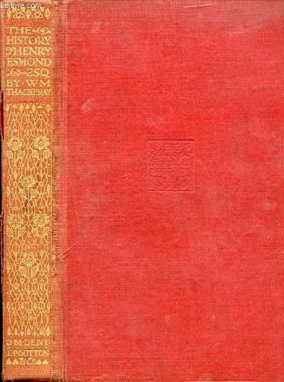THE HISTORY OF HENRY ESMOND Esq.