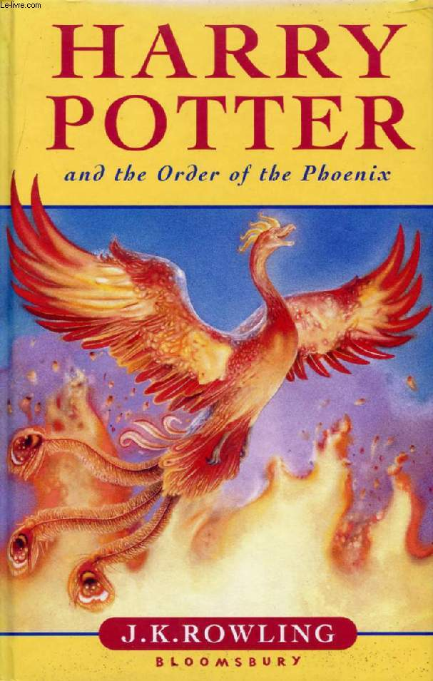 HARRY POTTER, AND THE ORDER OF THE PHOENIX
