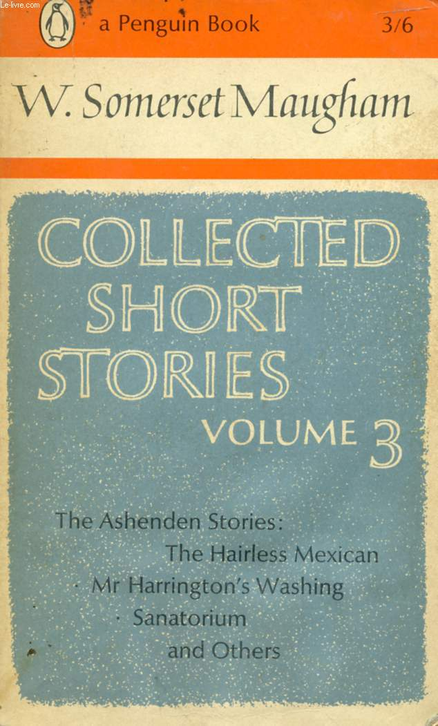 COLLECTED SHORT STORIES, VOLUME 3