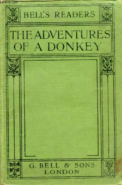 THE ADVENTURES OF A DONKEY, ADAPTED FROM THE FRENCH OF THE COUNTESS DE SEGUR