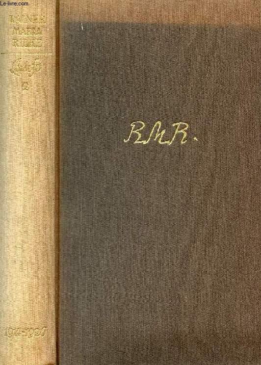 BRIEFE, ZWEITER BAND, 1914-1926