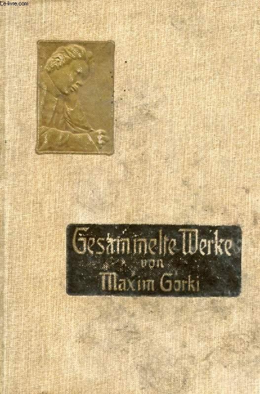 MAXIM GORKI, GESAMMELTE WERKE, BAND II