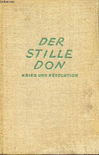 DER STILLE DON, KRIEG UND REVOLUTION (ZWEITER BAND)