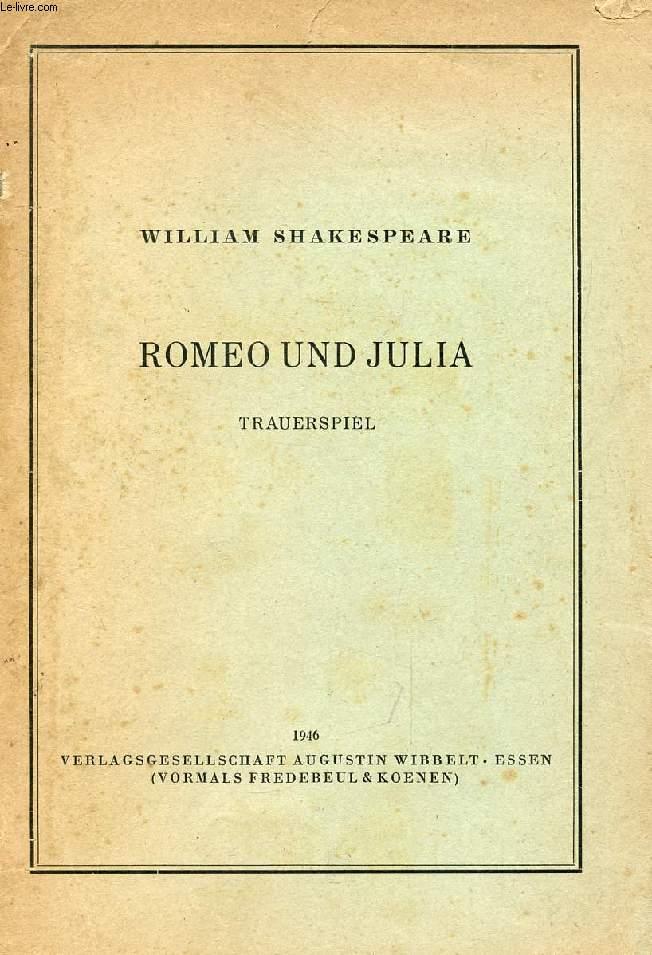 ROMEO UND JULIA, Trauerspiel