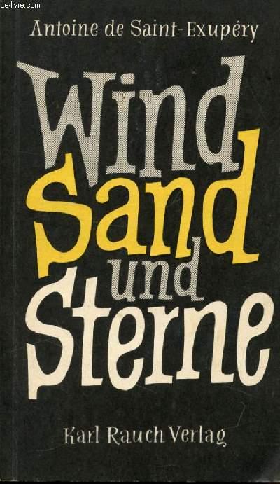 WIND SAND UND STERNE