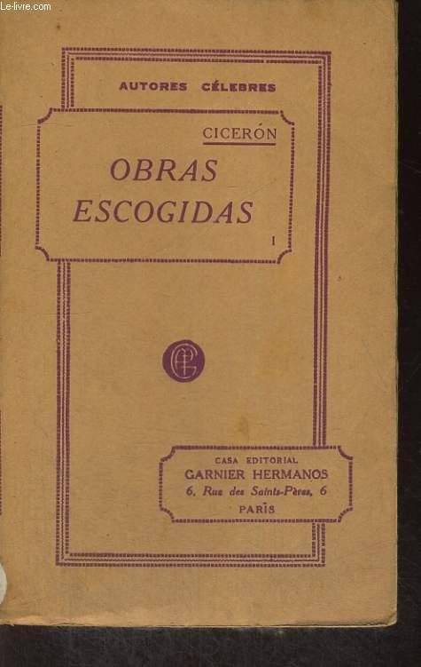 OBRAS ESCOGIDAS, VERSION CASTELLANA DE NICOLAS ESTEVANEZ, TOMO I