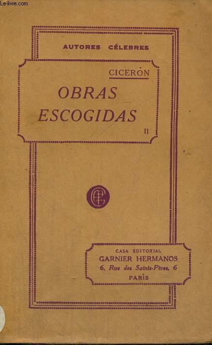 OBRAS ESCOGIDAS, TOMO II