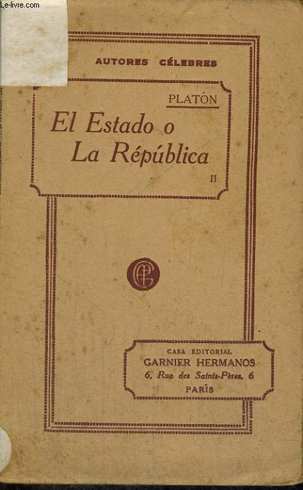 EL ESTADO O LA REPUBLICA, II